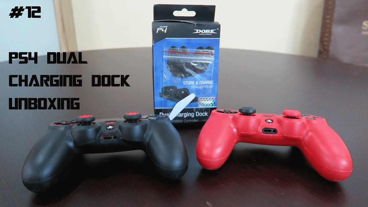 Unboxing Dobe Ps4 Dual Charging Dock Youtube
