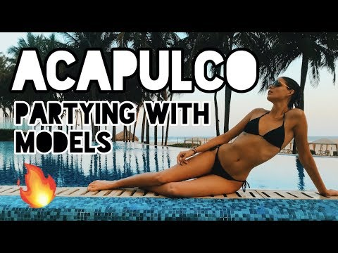 2-DAYS in ACAPULCO, DANCING AND PARTYING WITH MODELS | KARLA IVONNE | TRAVEL