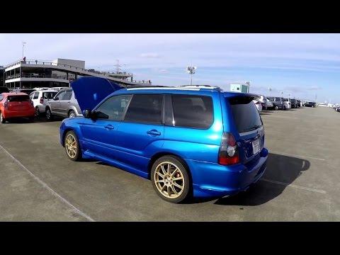 2006 Subaru Forester Sti At Japanese Jdm Car Auction Youtube