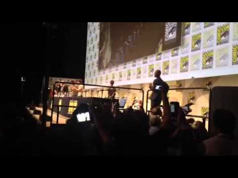 Fantastic Four Cast At Hall H For Comic Con