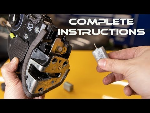 How To Replace The Rear Door Lock Actuator On A 2007 To