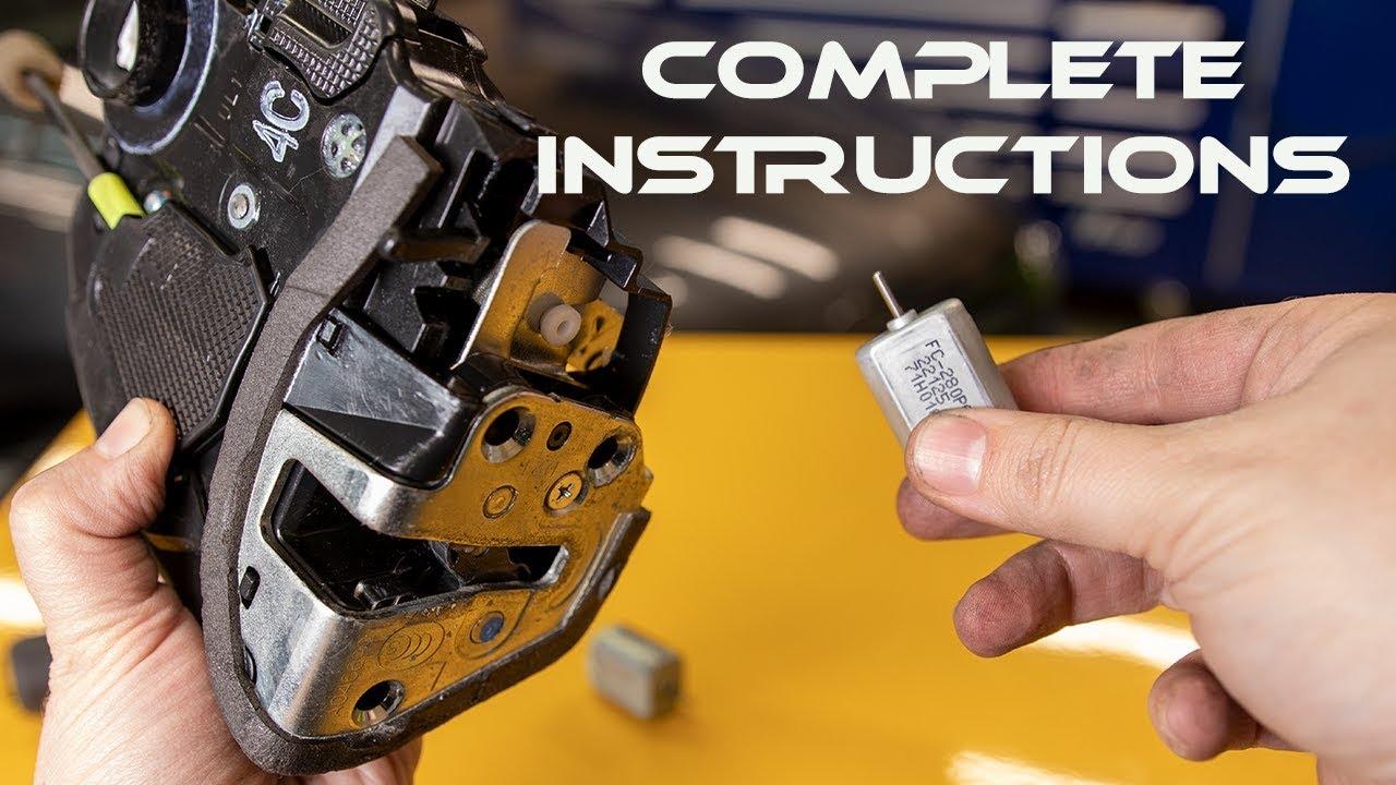 how to repair a door lock actuator motor low cost way [ 1280 x 720 Pixel ]