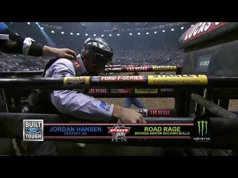 Jordan Hansen rides Road Rage for 85.25