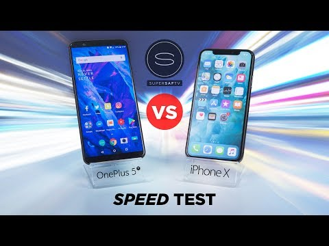Download Youtube: OnePlus 5T vs iPhone X SPEED Test