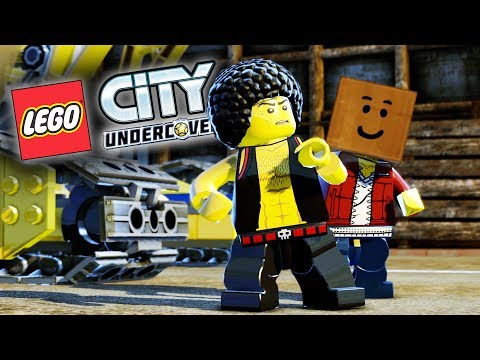 Lego City Undercover Game | CONSTRUCTION STUFFS!!  | Lego City Undercover HD Gameplay - Chapter 12
