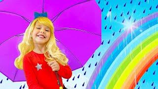Rain Rain Go Away With Lyrics |  Kids Song & Nursery Rhymes