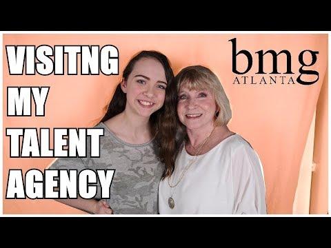 Visiting my Talent Agency | BMG Atlanta