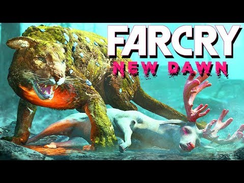 Far Cry New Dawn Gameplay German #01 - Verstrahlte wilde Tiere thumbnail