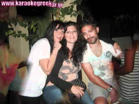 karaoke greek star stage