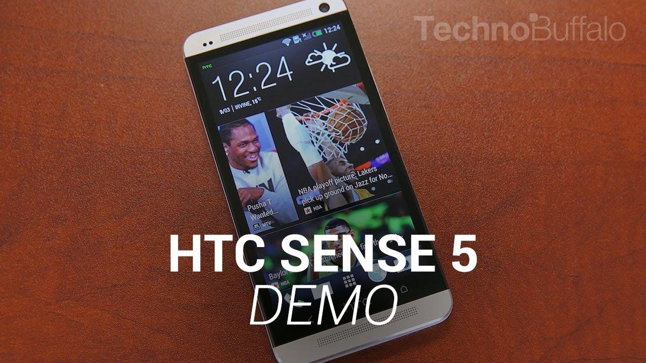 HTC Sense 5 Demo