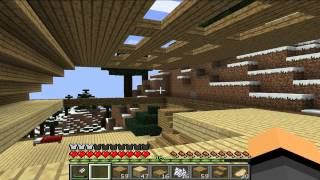 Minecraft Одиночество # 6 КРАСИВАЯ КРЫША И ЁЛОЧКА