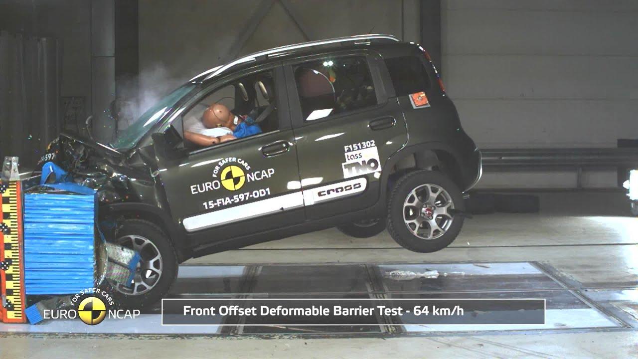 Crashtest Fiat Panda Cross Adac Youtube