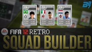 fifa 12 ultimate team retro squad builder serie a silvers wel shaarawy
