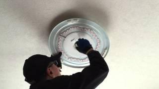 シーリングライト LED器具へ交換作業 thumbnail