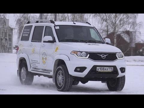 2017 UAZ Patriot Test Drive