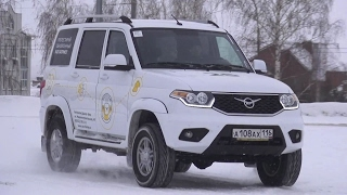 2017 UAZ Patriot Test Drive(, 2017-02-16T10:25:41.000Z)