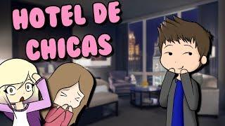 EIN MAN IN EINEM GIRLS NUR HOTEL ? Roblox Rollenspiel auf Spanisch