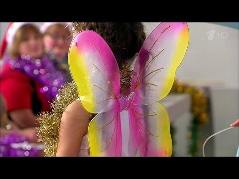 Жить здорово!Нарядное платье для девочки своими руками.(25.12.2015)