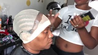 Bald cap method Frontal Sew In Install VERY DETAILED | HAIRBYERICKAJ.COM