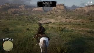 Red Dead Redemption 2  Hunting Bison