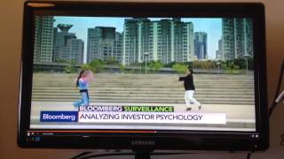Fama Gangnam Style! Andy KIM's research and dance [3:45] on Bloomberg TV with Brendan Greeley!