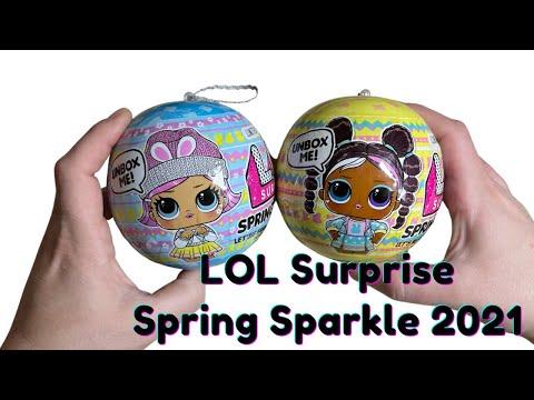 Ultimate Guide To Lol Spring Sparkle Doll Содержит 7 Сюрпризов