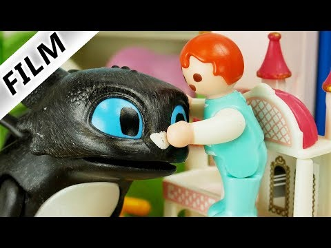 Playmobil Film Deutsch | EMMA ZÄHMT BABY DRACHEN - Neues Haustier Für Familie Vogel? Kinderfilm