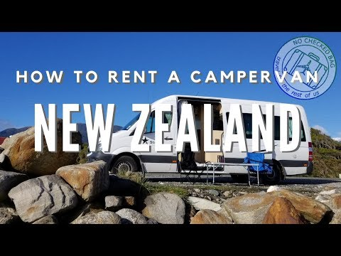 How To Rent A Campervan In New Zealand