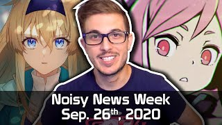 Noisy News Week - Azario is Back and so are the Visual Novel Updates