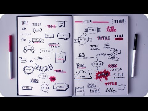 50 Cute Ways to Write a Title - YouTube