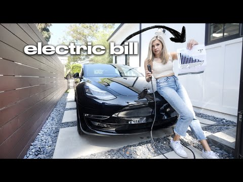 the REAL cost to charge a Tesla (revealing my electricity bill)