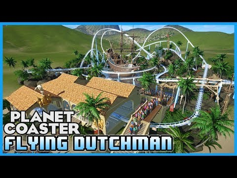FLYING DUTCHMAN! Launched Wing Coaster! Coaster Coaster Spotlight 259  #PlanetCoaster