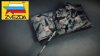 FULL VIDEO BUILD ARMATA T-14 by ZVEZDA