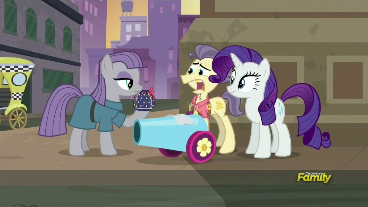 Maud gets the Party Cannon back - The Gift of Maud Pie - YouTube