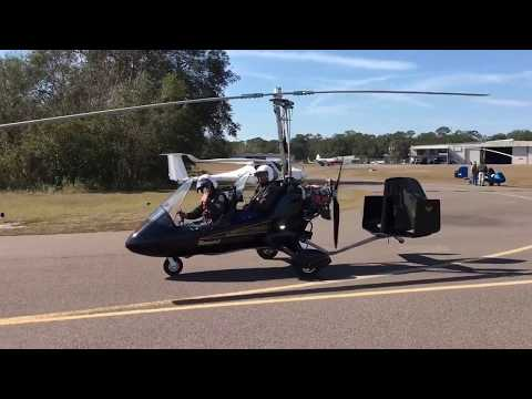 Zephyrhills Florida Gyrocopter Trike Airplane Fly In Aviation