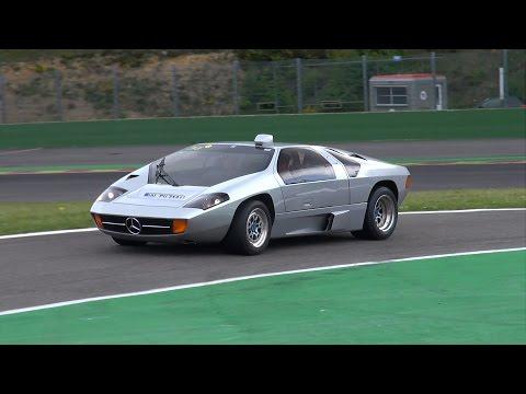 Mercedes Isdera Imperator 108i - Brutal V8 Exhaust Sounds!