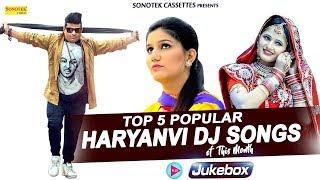 Top 5 Haryanvi Dj Songs Sapna Chaudhary Anjali Raghav Raju Punjabi Super Hit Haryanvi Songs