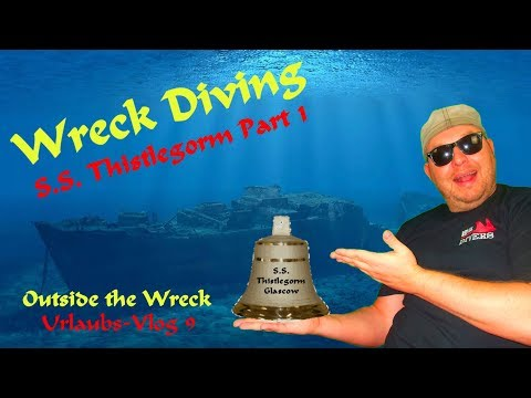WRECK DIVING EGYPT - S.S. Thistlegorm Part1/2 2017