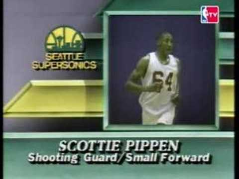 NBA Draft 1987 - Scottie Pippen (Pick NO.5)