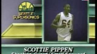 NBA Draft 1987 - Scottie Pippen (Pick NO.5)