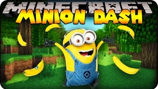 Minecraft Mods : MINION DASH! Modded Race (Despicable Me Mod / Morph Mod)