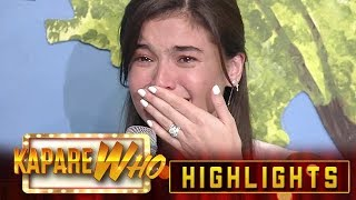 Anne Curtis cries out of laughter | KapareWHO