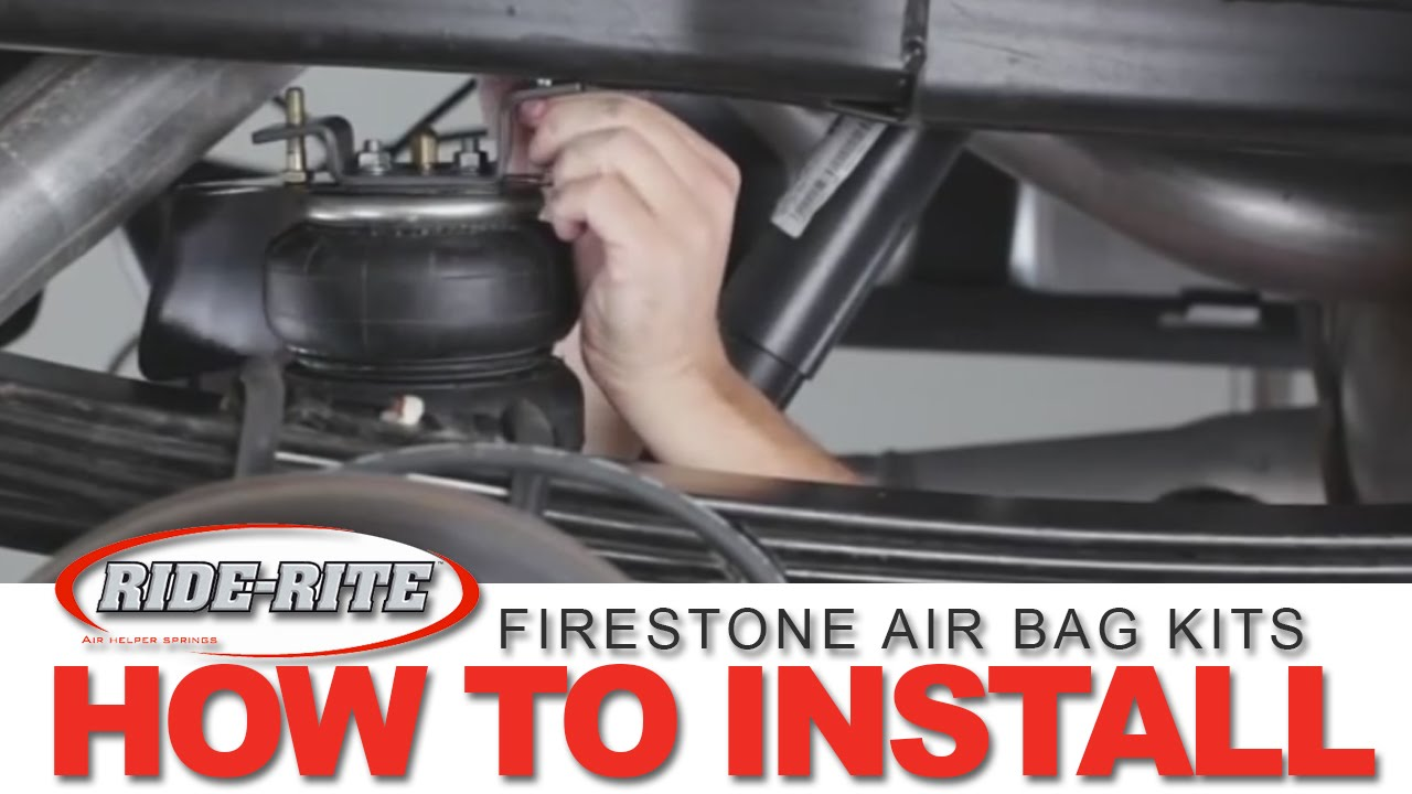 How To Install A Firestone Air Bag Kit