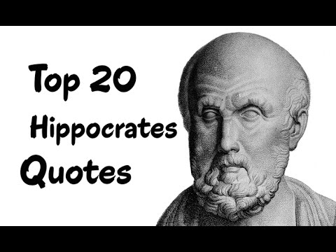 Top 20 Hippocrates Quotes (Author of Hippocratic Writings)