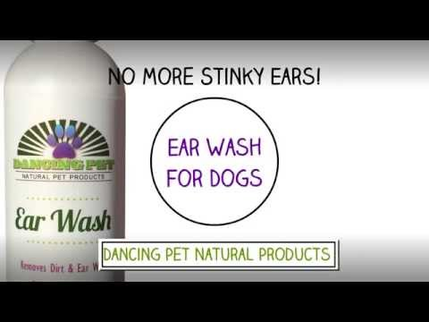 No More Stinky Dog or Cat! Dancing Pet Natural Ear Wash for Dogs Cats