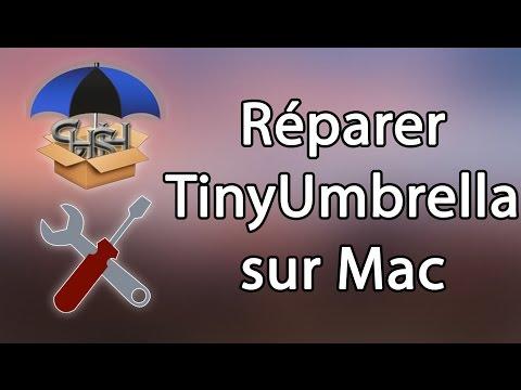 Réparer le démarrage de TinyUmbrella sur Mac - YouTube
