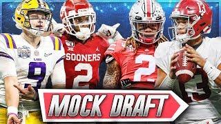 Should Joe Burrow Go #1? || 2020 NFL Mock Draft 2.0