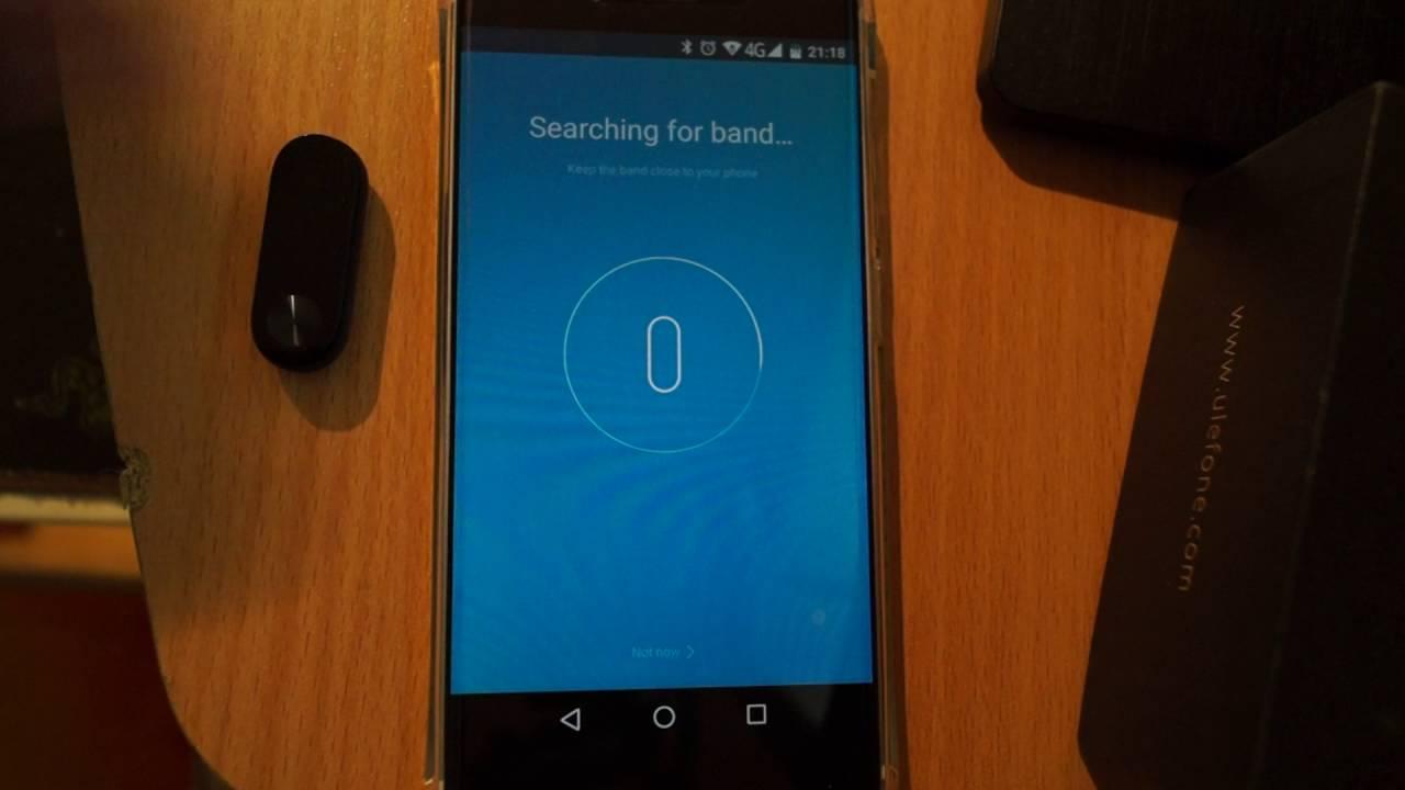 Xiaomi Mi Band 2 pairing problem