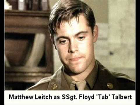 Matthew Leitch  6 of 6: BAND OF BROTHERS CAST S 201011