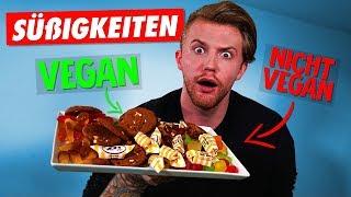 Vegan vs. NICHT Vegan - Süßigkeiten! (Der blinde Test)